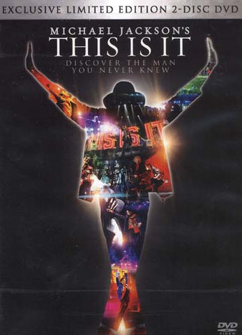 Michael Jackson - This Is It (2-Disc Limited Edition DVD) DVD Movie