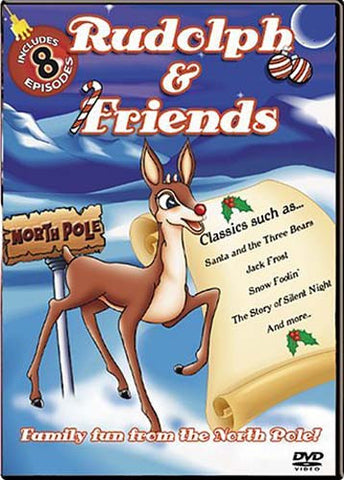 Rudolph and Friends (8 Episodes) DVD Movie