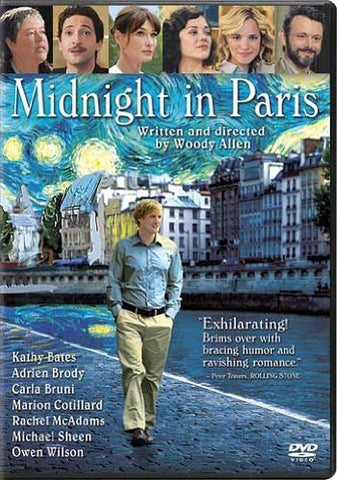 Midnight in Paris DVD Movie