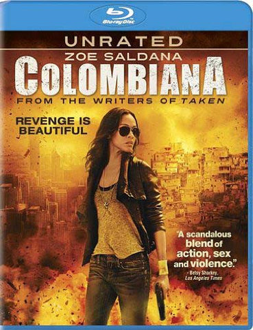Colombiana (Unrated) (Bilingual) (Blu-ray) BLU-RAY Movie