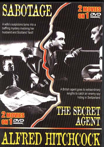 Sabotage / Secret Agent (Double Feature) DVD Movie