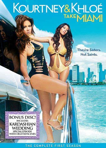 Kourtney & Khloe Take Miami (LG) DVD Movie