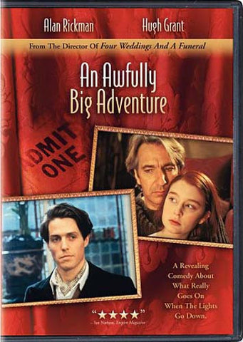 An Awfully Big Adventure DVD Movie
