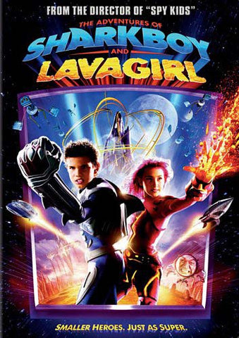 The Adventures of Sharkboy and Lavagirl (2D Version Only) DVD Movie
