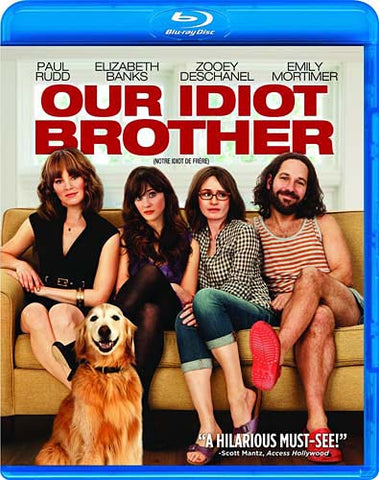 Our Idiot Brother (Bilingual) (Blu-ray) BLU-RAY Movie