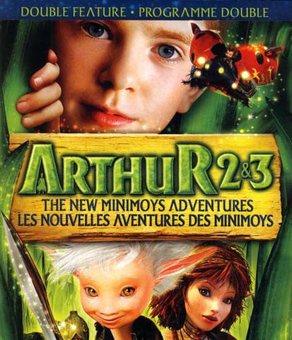 Arthur 2 & 3 - The New Minimoys Adventures (Double Feature) (Bilingue)(Blu-ray) BLU-RAY Movie