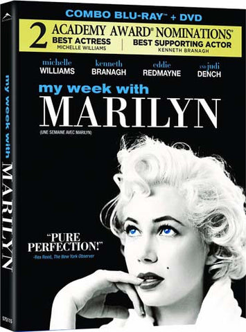 My Week with Marilyn (DVD+Blu-ray Combo) (Blu-ray) BLU-RAY Movie