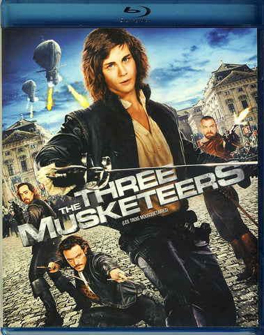 Three Musketeers (Bilingual) (Blu-ray) BLU-RAY Movie