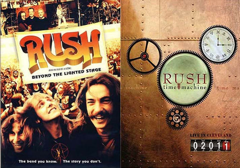 Rush - Beyond The Lighted Stage (2 Disc) / Rush - Time Machine 2011 - Live in Cleveland (2 pack) DVD Movie