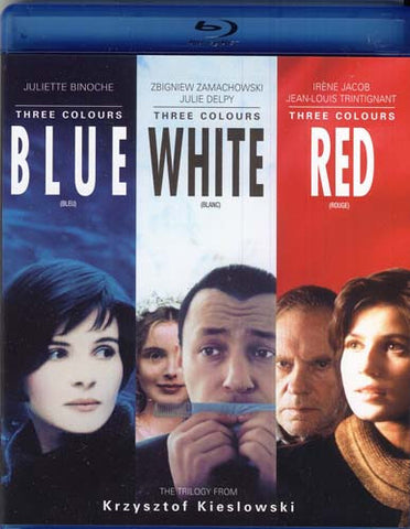 Three Colors Trilogy (Blue / White / Red) (Bilingual) (Blu-ray) BLU-RAY Movie
