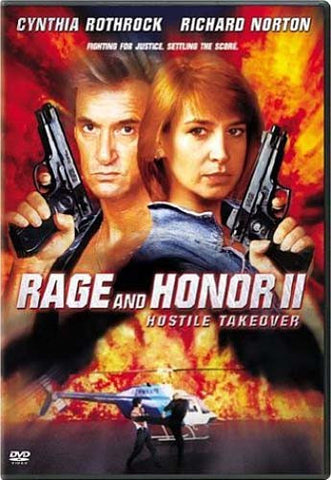 Rage & Honor 2 - Hostile Takeover DVD Movie
