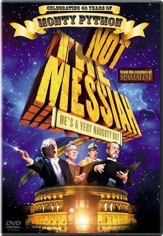 Not the Messiah DVD Movie