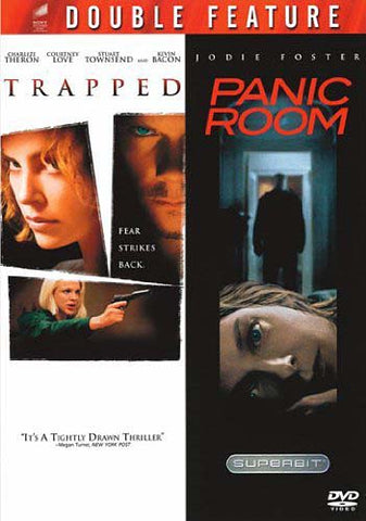 Trapped/Panic Room (Double Feature) DVD Movie