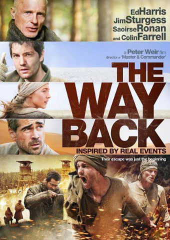 The Way Back DVD Movie