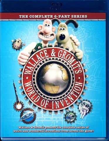 Wallace And Gromit - World of Invention (Blu-ray) BLU-RAY Movie