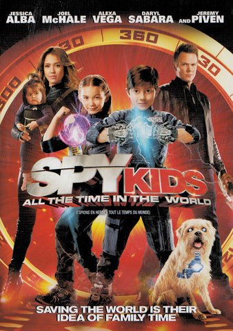 Spy Kids 4 - All The Time In The World (Bilingual) DVD Movie