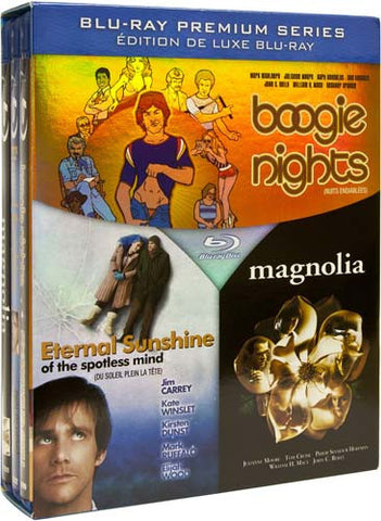 Boogie Nights/Eternal Sunshine/Magnolia (Blu-ray) (Boxset) BLU-RAY Movie