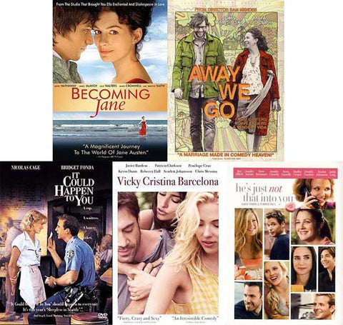 Chick Flick 5 Movie Romance(5 pack)(Boxset) DVD Movie