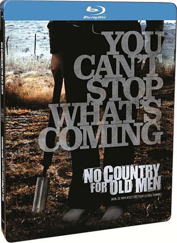 No Country for Old Men - (Special Edition Steelbook Case) (Blu-ray) BLU-RAY Movie
