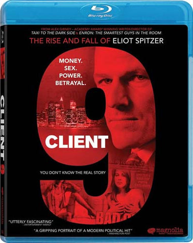 Client 9 Rise and Fall of Eliot Spitzer (Blu-ray) BLU-RAY Movie