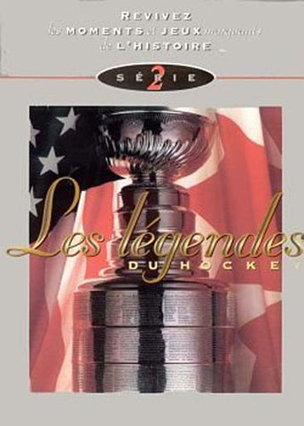Les Legendes Du Hockey - Serie 2 (French Version) DVD Movie