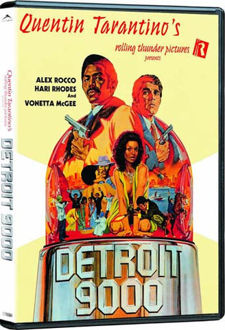 Detroit 9000 DVD Movie