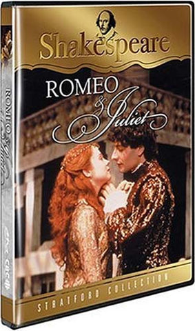 Romeo & Juliet- Shakespeare (Stratford Collection) DVD Movie