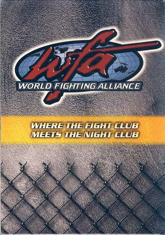 WFA - World Fighting Alliance (Big Bang at the Rock/Return of the Titans/Desert Destruction) (Boxset DVD Movie