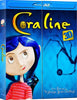 Coraline 3D (Blu-ray + DVD(2D Only) Combo) (Blu-ray) (Slipcover) BLU-RAY Movie