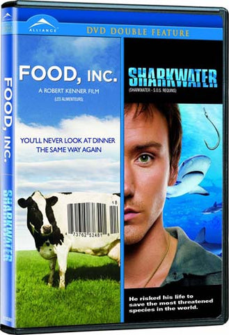 Food INC. / Sharkwater (Double Feature) (Bilingual) DVD Movie