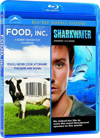 Food INC. / Sharkwater (Double Feature) (gual)(Blu-ray) BLU-RAY Movie