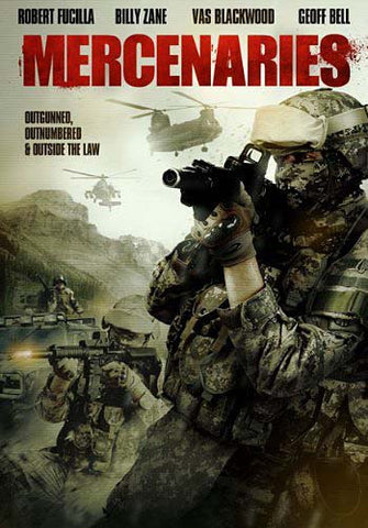 Mercenaries DVD Movie