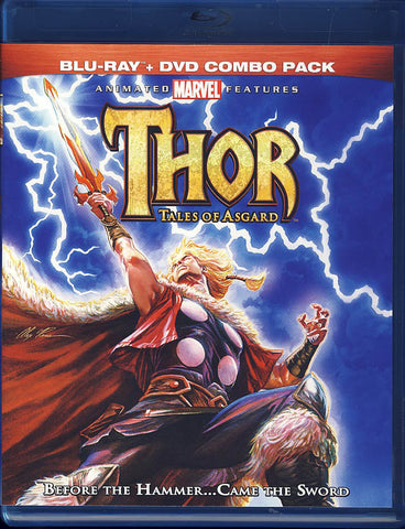 Thor: Tales of Asgard (Two-Disc Blu-ray/DVD Combo) (Blu-ray) BLU-RAY Movie
