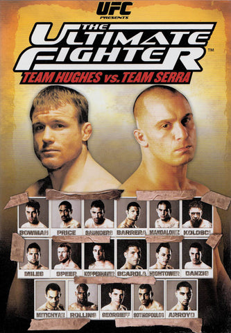 UFC - Ultimate Fighter - Team Hughes vs. Team Serra (Boxset) DVD Movie