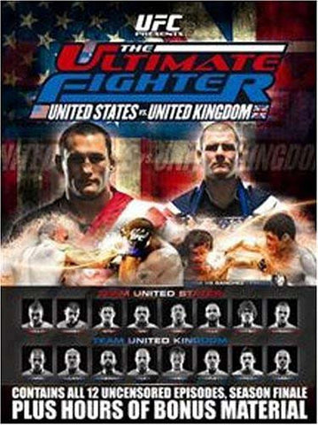 UFC - Ultimate Fighter - United States vs. United Kingdom (Boxset) DVD Movie