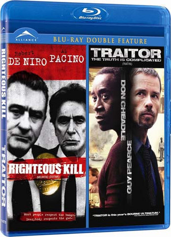 Righteous Kill / Traitor (Double Feature) (Bilingual) (Blu-ray) BLU-RAY Movie