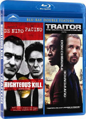 Righteous Kill / Traitor (Double Feature) (Bilingual) (Blu-ray)