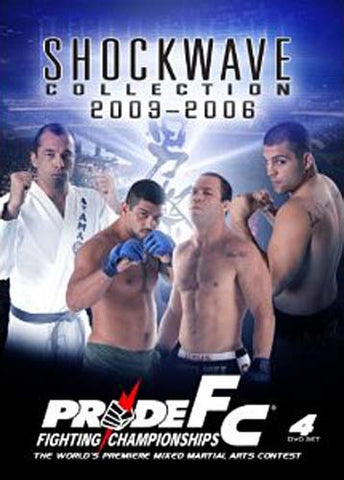 Pride FC - Shockwave Collection 2003 - 2006 (Boxset) DVD Movie