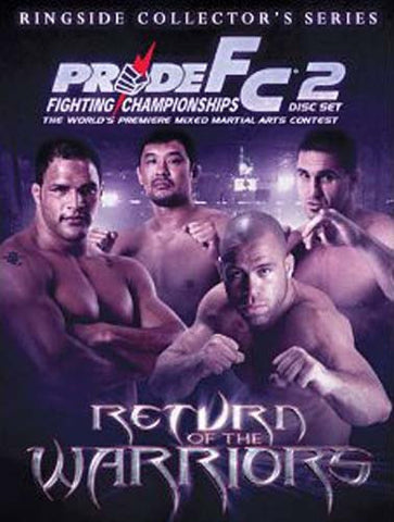Pride FC - Return of the Warriors - Ringside Collector's Series DVD Movie