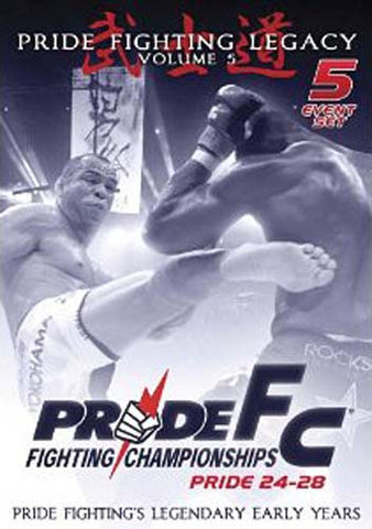Pride Fighting Championships Pride Fighting Legacy, Vol. 5 (Boxset) DVD Movie