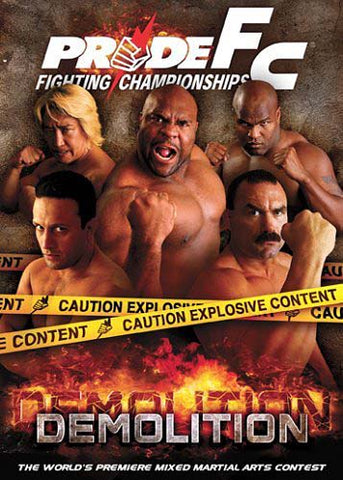 Pride FC - Demolition DVD Movie