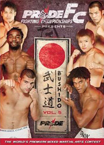 Pride FC - Bushido, Vol. 5 DVD Movie