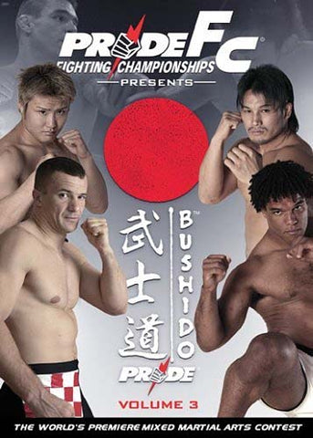 Pride FC - Bushido, Vol. 3 DVD Movie