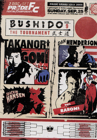 Pride FC Bushido - The Tournament Vol.9 DVD Movie