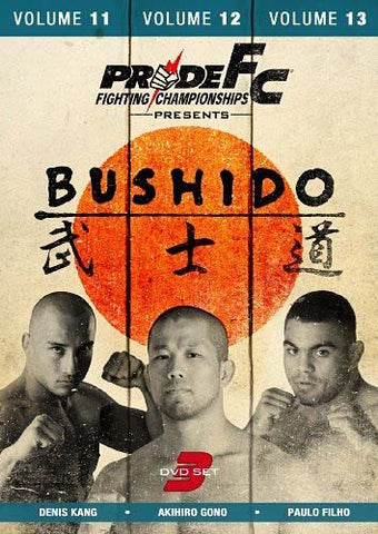 Pride FC - Bushido Collection 4: Volumes 11-13 (Boxset) DVD Movie