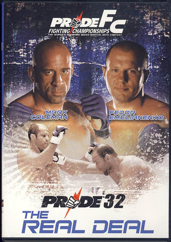 Pride FC - 32 - The Real Deal DVD Movie