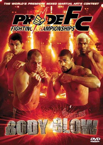Pride FC - Body Blow DVD Movie