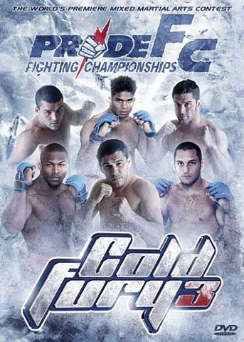 Pride Fighting Championships: Cold Fury 3 DVD Movie