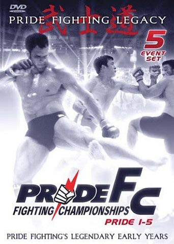 Pride Fighting Championships: Pride Fighting Legacy - Pride 1-5 (Boxset) DVD Movie