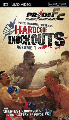 Pride FC - Hardcore Knockouts 1 [UMD for PSP] DVD Movie